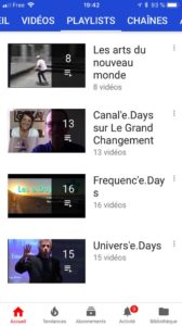 playlists de HAP'e.Days TV